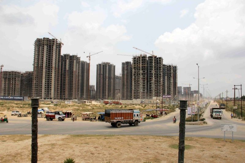Under-construction skyscrapers. (File Photo: IANS)