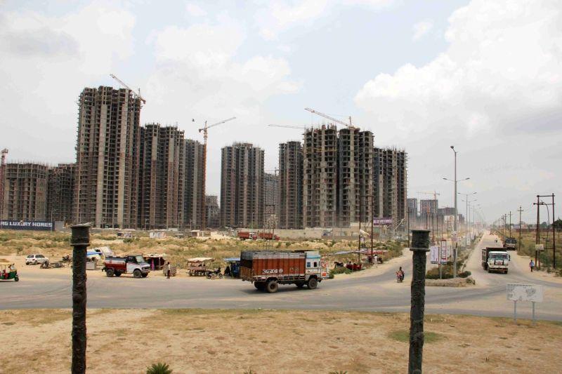 Under-construction skyscrapers. (File Photo: IANS)