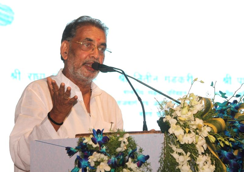 Union Agriculture Minister Radha Mohan Singh addresses during inauguration of  National Dairy Development Board in Nagpur on June 4, 2017. - Radha Mohan Singh