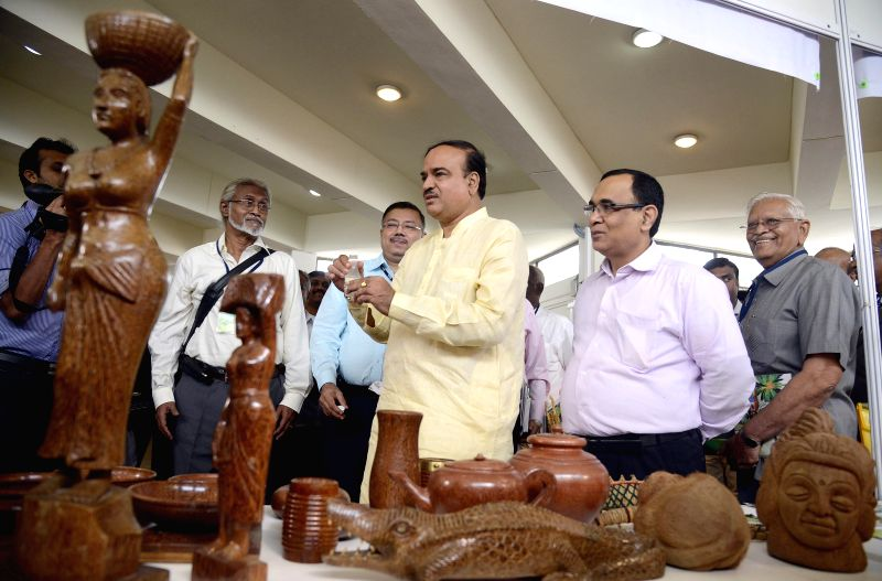Union Chemicals and Fertilizers Minister Ananth Kumar at an exhibition organised on World Coconut Day by Coconut Development Board at JN Tata Auditorium in Bangalore on Sept 2, 2014. - Ananth Kumar