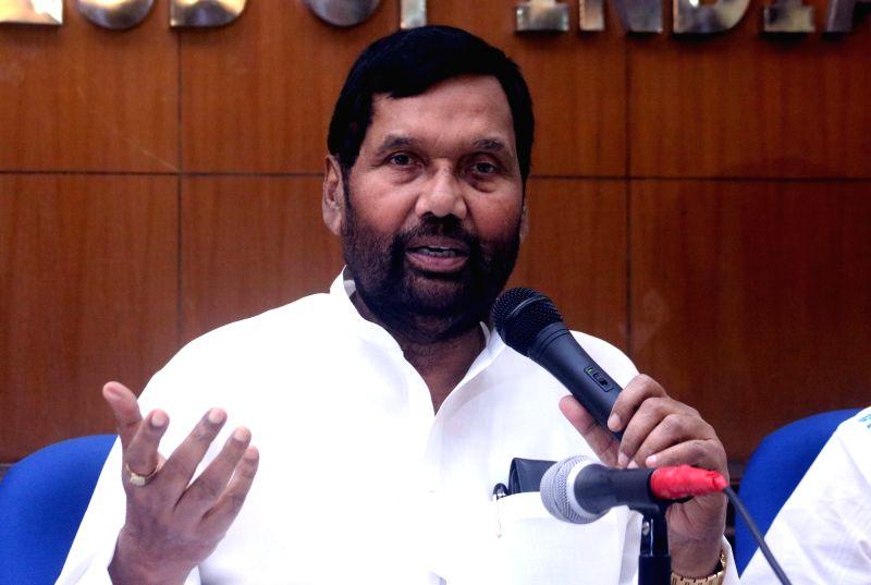 Union Consumer Affairs Minister Ram Vilas Paswan. - Ram Vilas Paswan