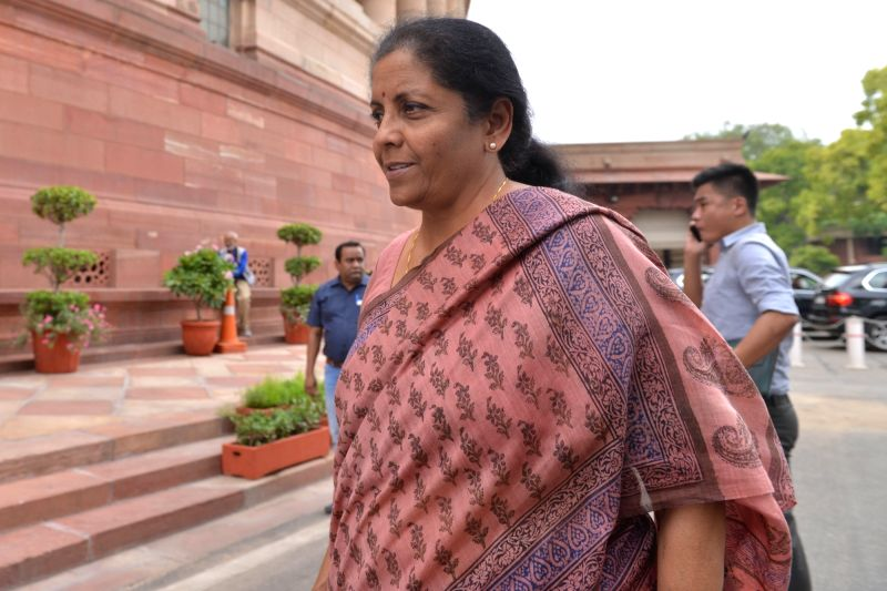 Union Finance and Corporate Affairs Minister Nirmala Sitharaman.