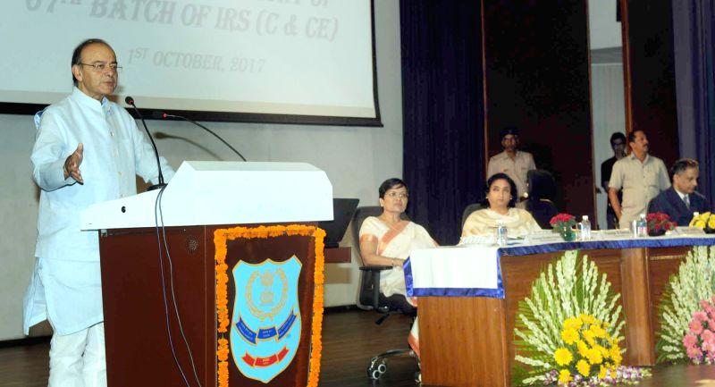 Faridabad (Haryana): Jaitley addresses NACIN - Arun Jaitley