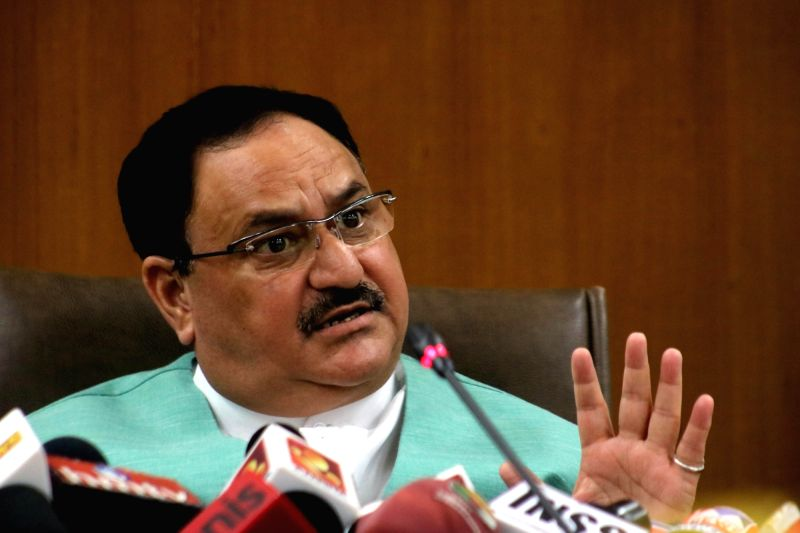 Union Health Minster JP Nadda. (Image Source: IANS)