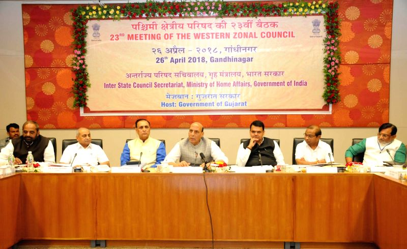 Union Home Minister Rajnath Singh chairs the 23rd meeting of the Western Zonal Council comprising of the States of Gujarat, Maharashtra, Goa and Union Territories of Daman and Diu and ... - Rajnath Singh