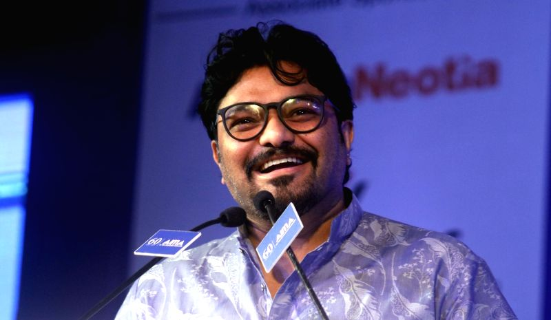 Union Minister Babul Supriyo during AIMA Awards ceremony in New Delhi, on April 27, 2017. - Babul Supriyo