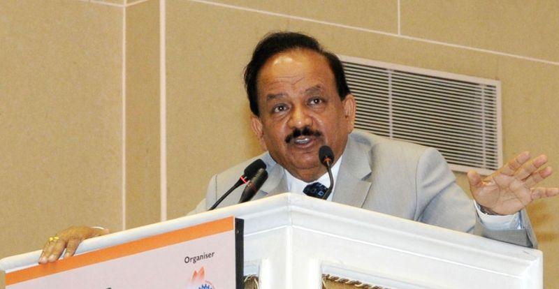 Union Minister Dr. Harsh Vardhan. - D