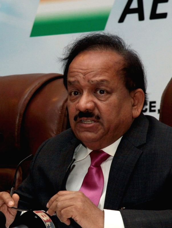 Union Minister Dr. Harsh Vardhan.