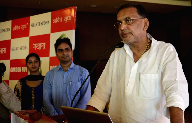 Union Minister for Agriculture Radha Mohan Singh during a programme in Patna on Aug. 30, 2014.