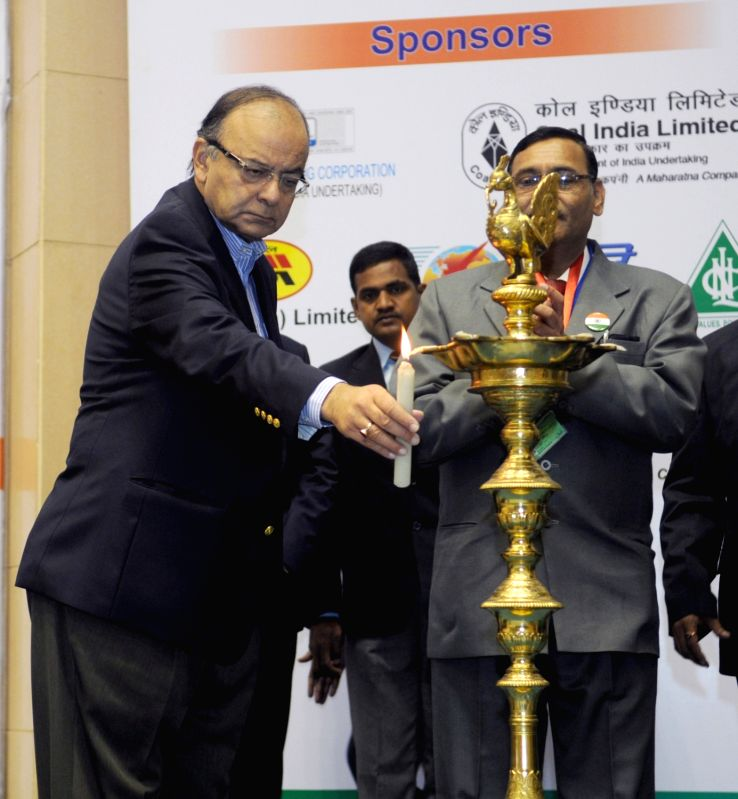 Union Minister for Finance, Corporate Affairs and Information & Broadcasting Arun Jaitley at the 57th National Cost Convention (NCC-2016), organised by the Institute of Cost ... - Arun Jaitley