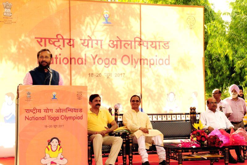 Yoga Olympiad - Prakash Javadekar