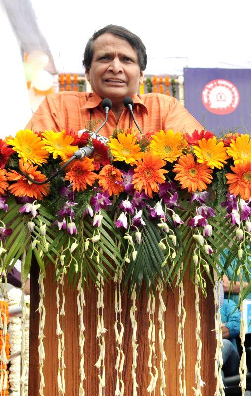 Union Minister for Railways Suresh Prabhakar Prabhu. (File Photo: IANS) - Suresh Prabhakar Prabhu