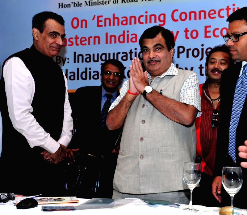 Union Minister for Road Transport and Highways and Shipping Nitin Gadkari during the special session on 'Enhancing Connectivity Across Eastern India – Key to Economic Growth', ...