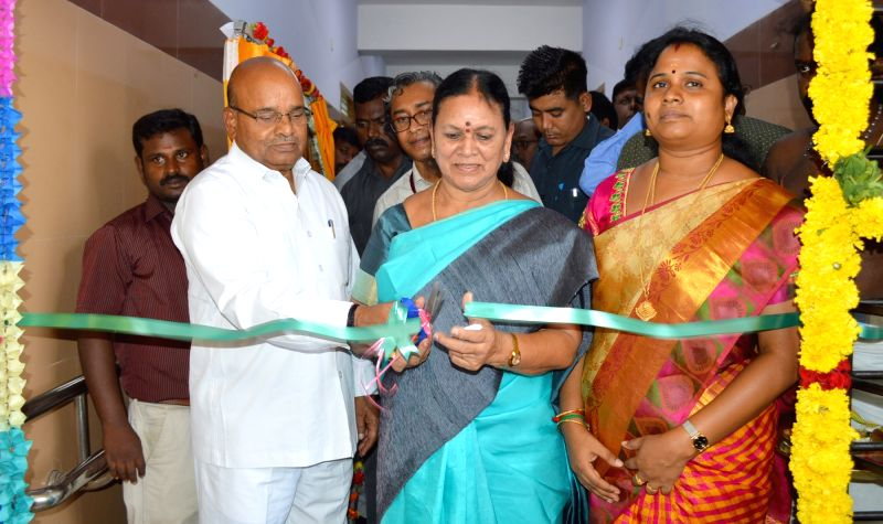 Union Minister for Social Justice and Empowerment Thaawar Chand Gehlot inaugurates the Special Education HRD Block at the National Institute for Empowerment of Persons with Multiple ...