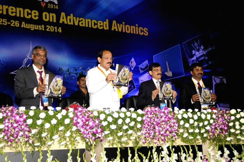 Union Minister for Urban Development, Housing and Urban Poverty Alleviation and Parliamentary Affairs M. Venkaiah Naidu during inauguration of `International Conference on Advanced Avionics`in ... - M. Venkaiah Naidu