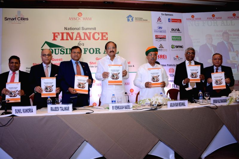 Union Minister for Urban Development, Housing and Urban Poverty Alleviation and Information and Broadcasting, M Venkaiah Naidu, Union Minister of State for Finance & Corporate Affairs ... - M Venkaiah Naidu