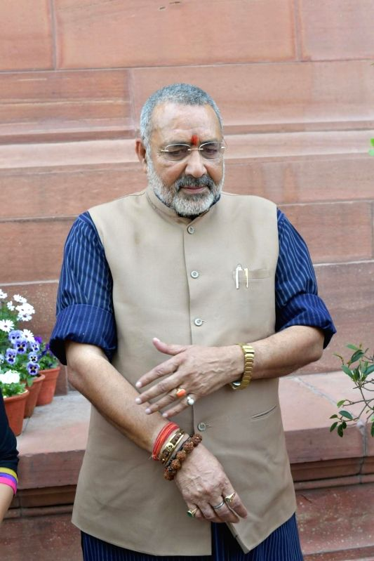 Union Minister Giriraj Singh. (File Photo: IANS) - Giriraj Singh