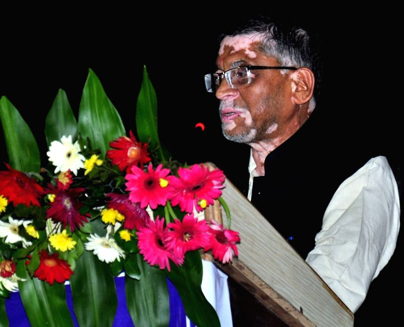 Union Minister of State for Labour and Employment Santosh Kumar Gangwar addresses at the inauguration of the office building of National Career Service Centre for Differently Abled, in ... - Santosh Kumar Gangwar