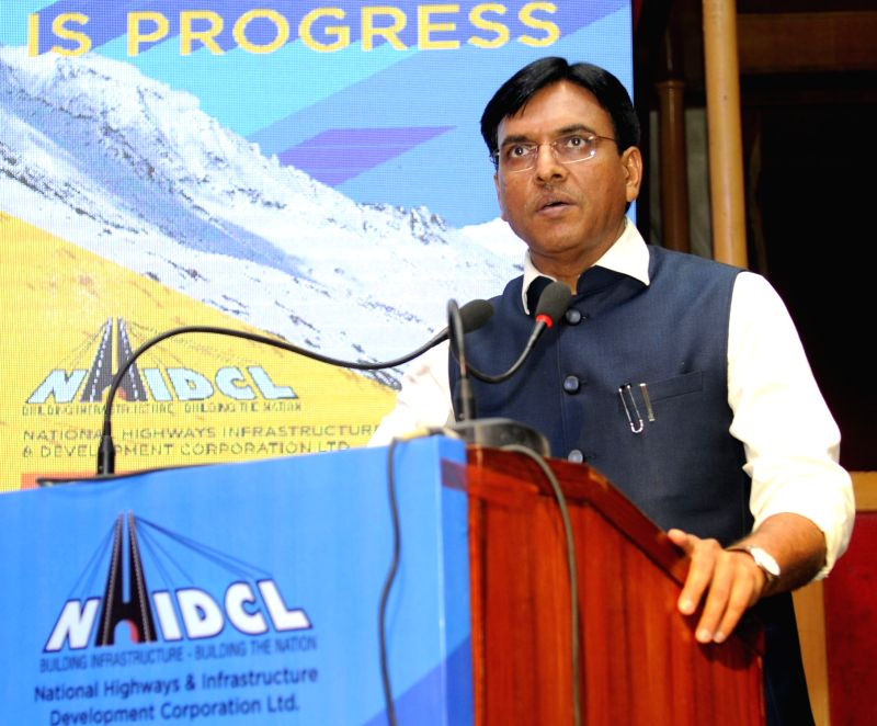 Union MoS for Road Transport and Highways, Shipping and Chemicals & Fertilizers Mansukh L. Mandaviya addresses at the inauguration of the 4th Inception Day Celebration programme of ...