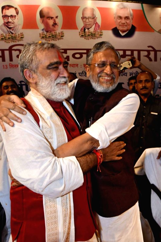 Felicitation programme - Bihar Dy CM and other ministers - Sushil Kumar Modi