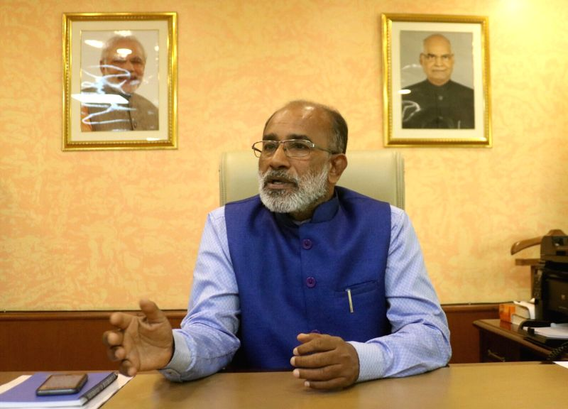 Union MoS Tourism (I/C) Alphons Kannanthana.  (Image Source: IANS)