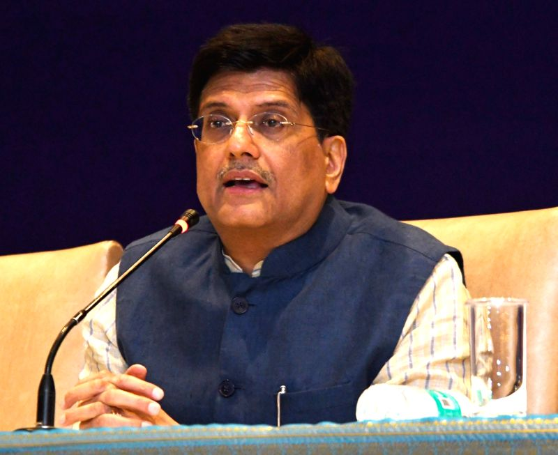 Union Power Minister Piyush Goyal addresses a press conference on the outcomes of the State's Power Ministers/UTs Conference, in New Delhi on May 4, 2017. - Piyush Goyal