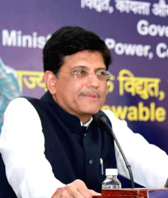 Union Power Minister Piyush Goyal. (File Photo: IANS)