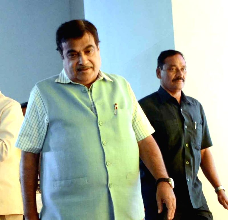 Union Road Transport, Highways and Shipping Minister Nitin Gadkari. (Image Source: IANS)