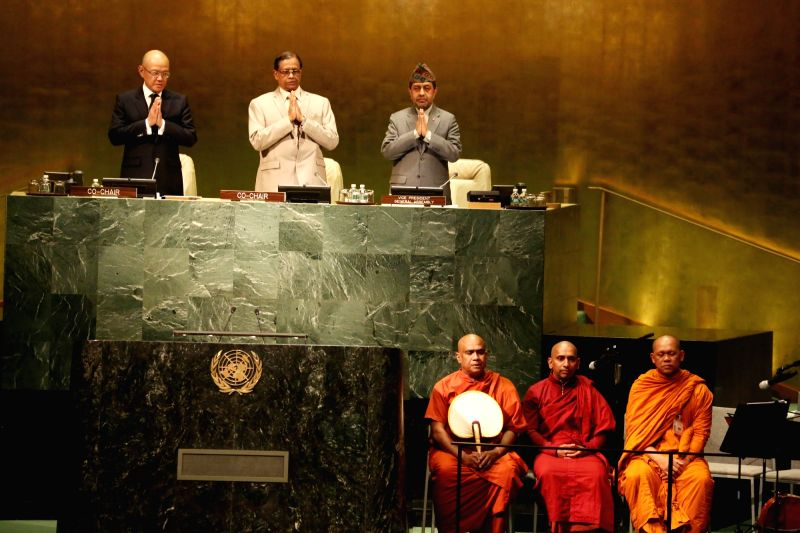 "United Nation: ""VESAK 2017"" celebrations underway at United Nation on May 11, 2017."