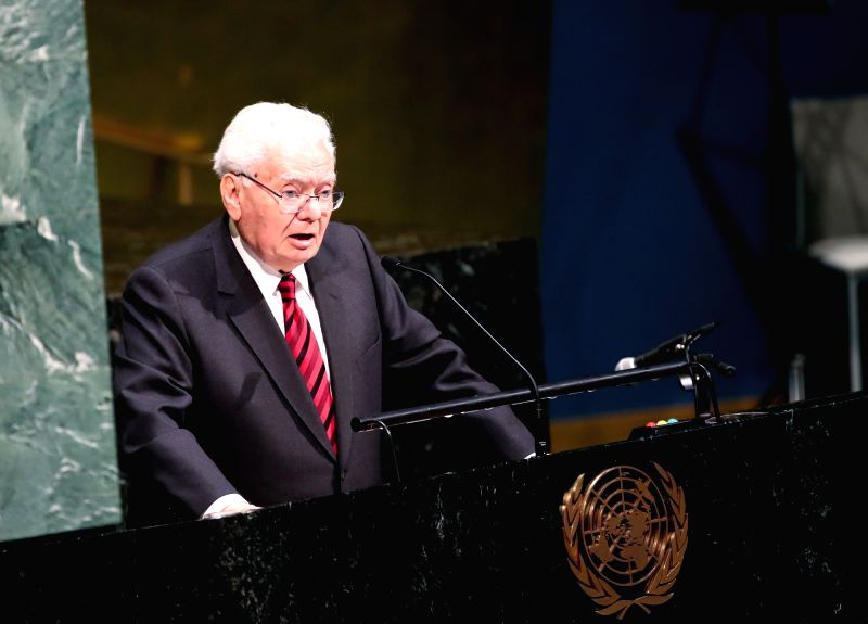 UNITED NATIONS, Jan. 31, 2018 - Thomas Buergenthal, a Holocaust survivor and retired Judge of the International Court of Justice and Professor at George Washington University Law School, speaks ...