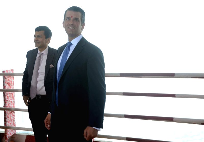 donald trump junior announces topping out of mumbai u0026 39s trump project