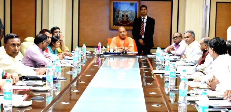 Cabinet Meeting Up Cm Adityanath
