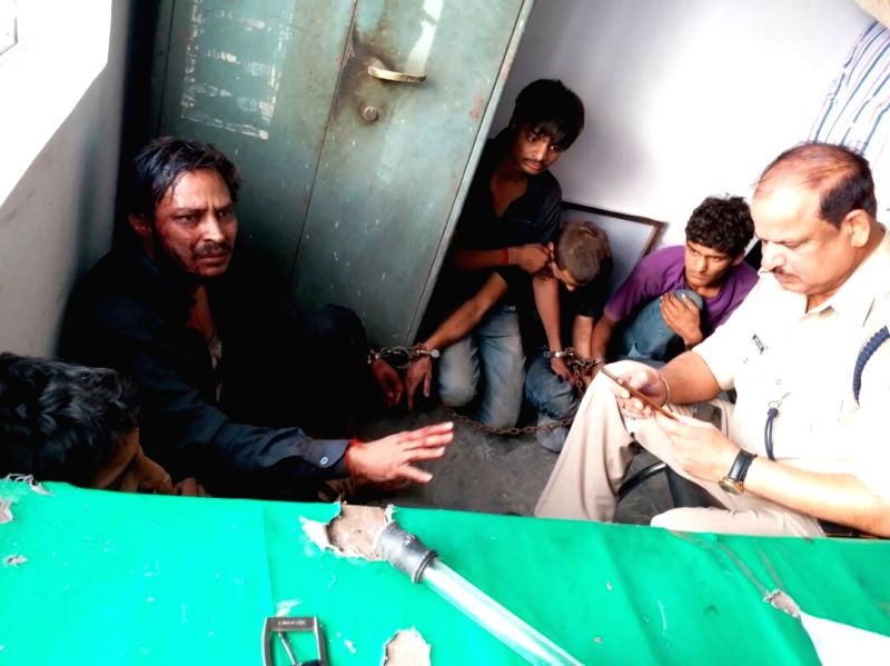 Uttar Pradesh police arrested five accused for killing two jewellers in Mathura on May 20, 2017.