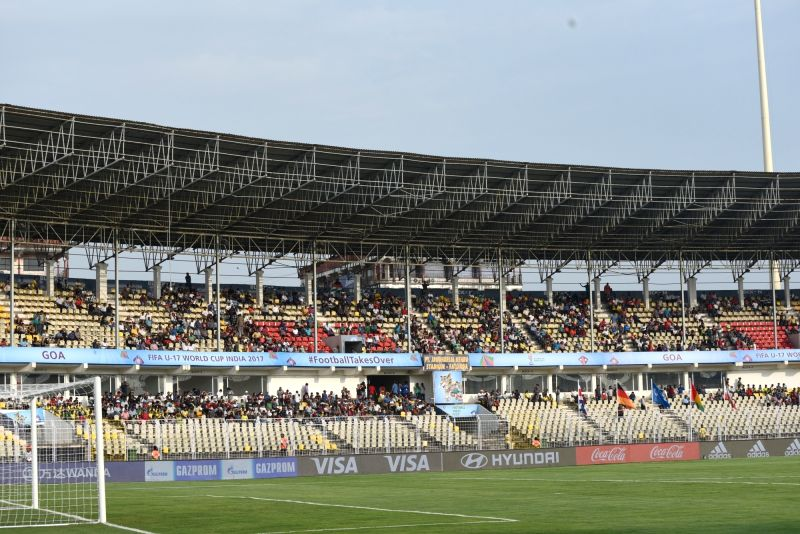 Fatorda (Goa): FIFA U-17 World - Group C - Costa Rica Vs Germany - vacant seats