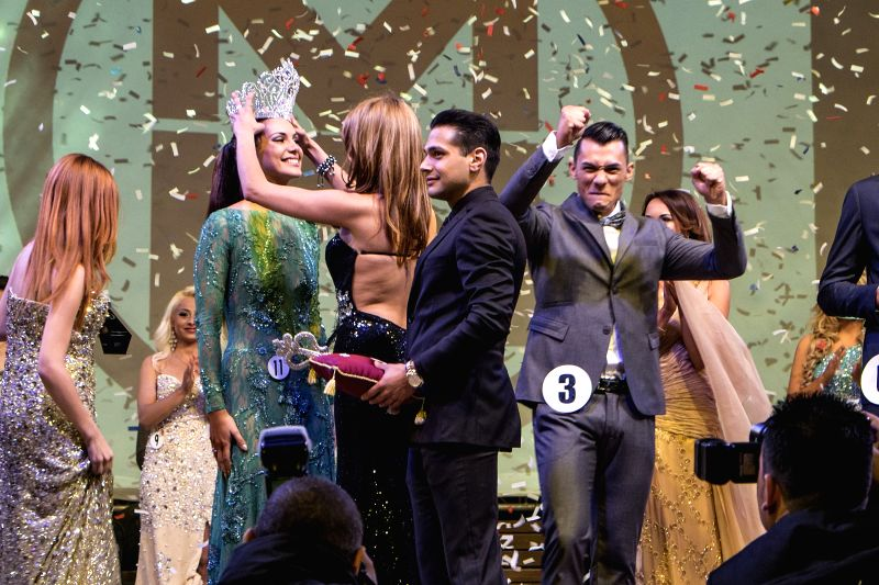 Joanne Galea, 24, was crowned Miss Malta 2014 during the contest of Miss Malta and Mr. Malta held in Valletta, Malta, on May 4, 2014. Joanne Galea and Bjorn Demicoli