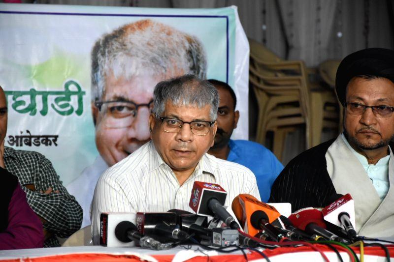 Vanchit Bahujan Aghadi (VBA) President Prakash Ambedkar.