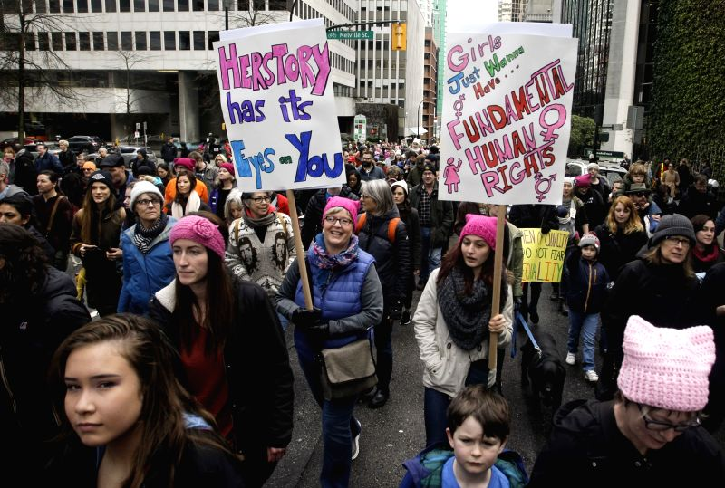 CANADA-VANCOUVER-WOMEN'S MARCH