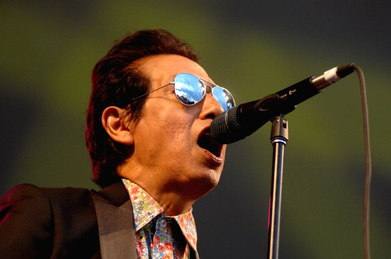 American singer Alejandro Escovedo performs at the 37th annual Vancouver Folk Music Festival in Vancouver, Canada, on July 19, 2014. The 3-day Vancouver Folk ...