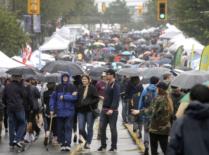 CANADA-VANCOUVER-CAR FREE DAY