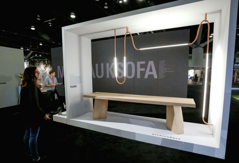 VANCOUVER, Sept. 29, 2017 - People visit 2017 Interior Design Show Vancouver in Vancouver, Canada, on Sept. 29, 2017. About 250 exhibitors from around the world participated in the 2017 Interior ...