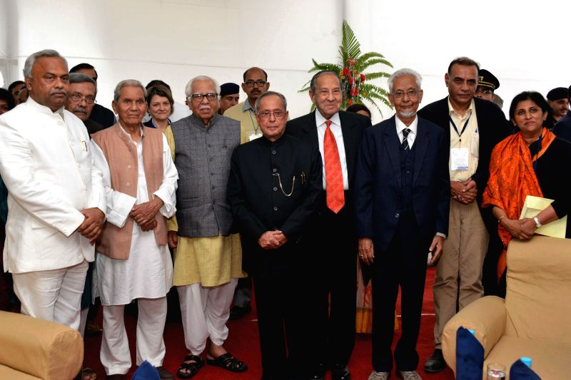 President Pranab Mukherjee during the inauguratation of the 40th All India Sociological Conference on `Development, Diversity and Democracy` of Indian sociological Society at Varanasi in ... - Pranab Mukherjee
