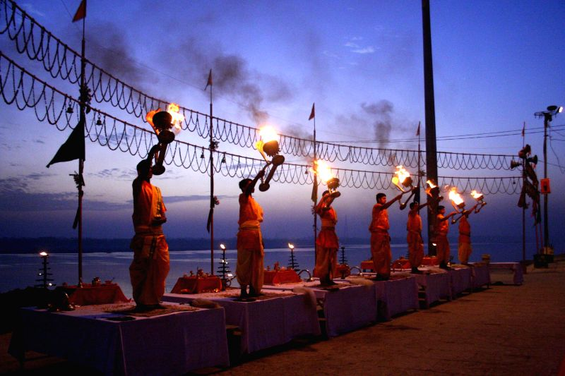 Ganga Aarti for Dev Diwali in Varanasi