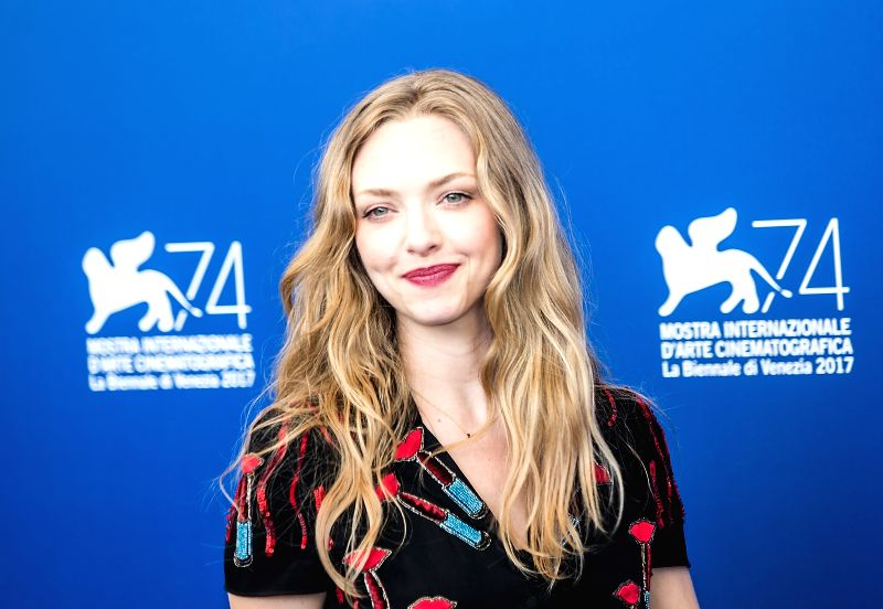 "VENICE, Aug. 31, 2017 - Actress Amanda Seyfried poses during a photocall for the movie ""First Reformed"" at the 74th Venice Film Festival in Venice, Italy, on Aug. 31, 2017. - Amanda Seyfried"