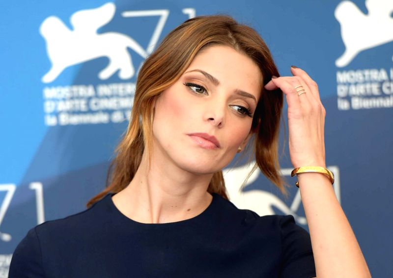 """Actress Ashley Greene poses during the photo call for """"Burying the ex"""" which is selected to be screened during the 71st Venice Film Festival, in Lido of ... - Ashley Greene"""
