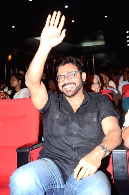 Venkatesh, Nayanatara acted Babu Bangaram movie audio  release function at Silpa Kala Vedika at Hyderabad.