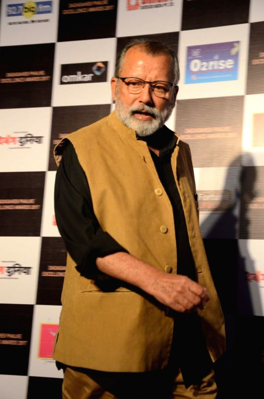 Veteran actor Pankaj Kapur at the Dadasaheb Phalke award function in Mumbai on April 21, 2017. - Pankaj Kapur