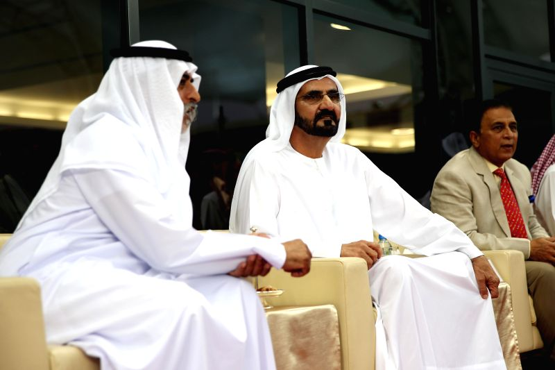 Vice President and Prime Minister of the UAE and the Ruler of Dubai, His Highness Sheikh Mohammed bin Rashid Al Maktoum and  the interim chief of the Board of Control for Cricket in India (BCCI)  , .. - Highness Sheikh Mohammed