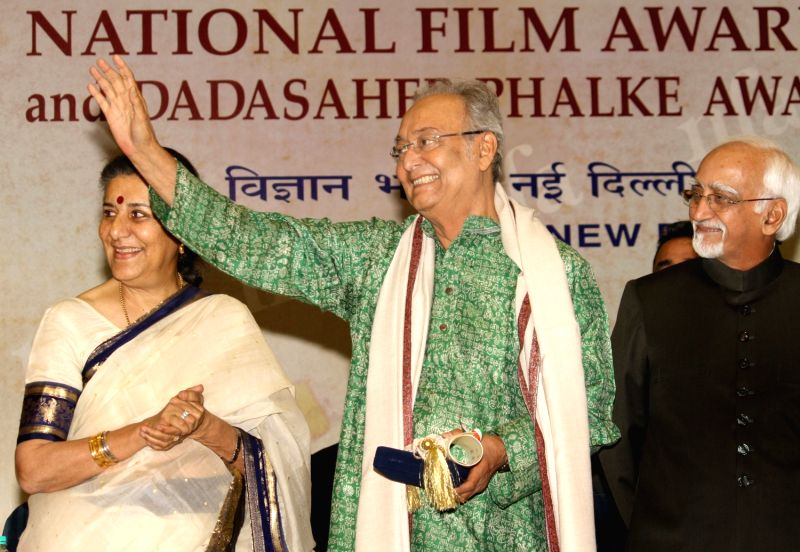 National Film Awards - Ambika Soni and Soumitra Chatterjee