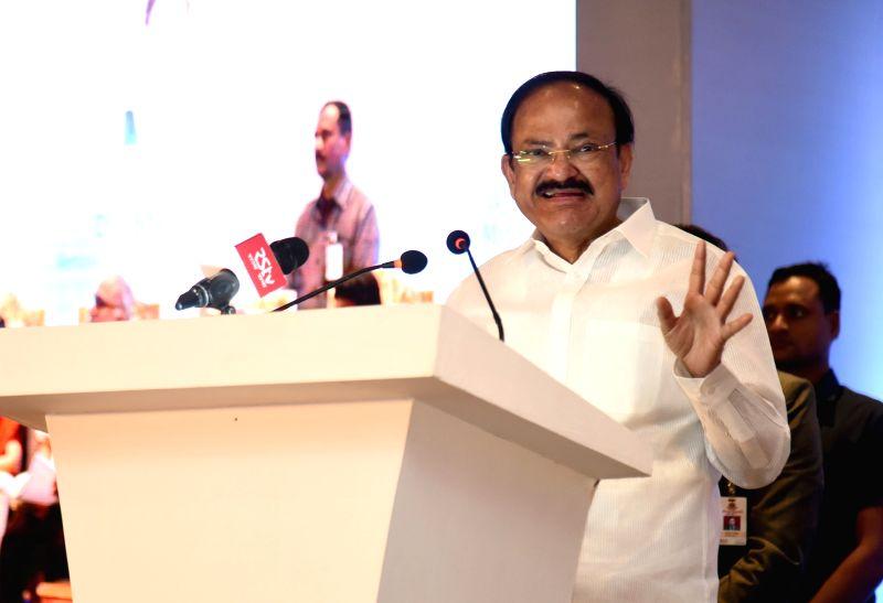 Vice President M. Venkaiah Naidu addresses at the OSKON 2018 (Ocular Surface and Keratoprosthesis Conference), in Chennai on July 29, 2018. - M. Venkaiah Naidu
