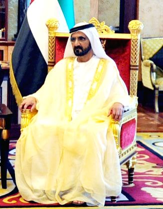 Vice President of the United Arab Emirates Mohammed bin Rashid Al Maktoum. (File Photo: IANS)